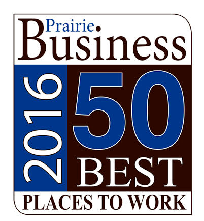 Prairie Business 50 Best Places to Work 2016