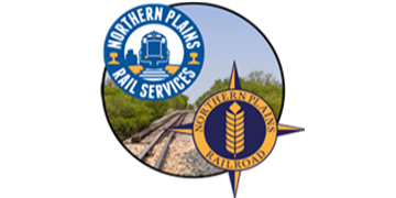 Northern Plains Railroad logo