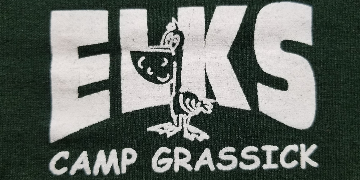 Elks Camp Grassick logo