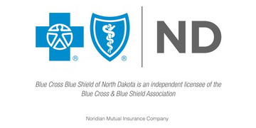 Blue Cross Blue Shield of ND logo