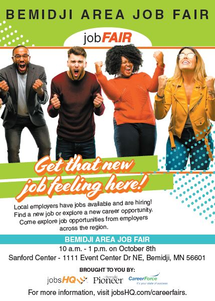 Bemidji Job fair poster