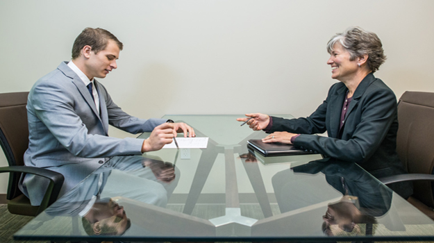 People interview picture