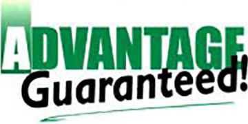 Advantage Guaranteed Lawn Care logo