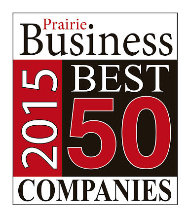 Prairie Business 50 Best Places to Work 2015